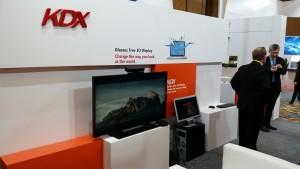KDX Glasses free 3D display