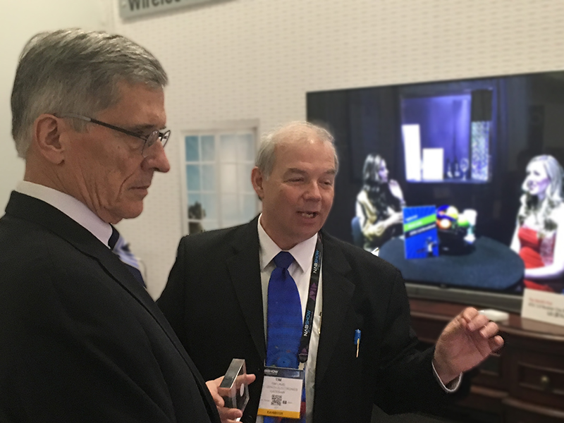Tom Wheeler and Tim Laud at the ATSC Consumer Experience