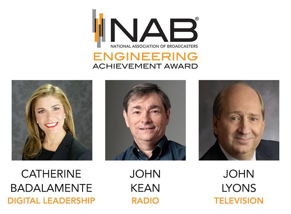 2017 NAB Engineering Achievement Award Winners