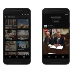 Facebook Live Feed on smartphone