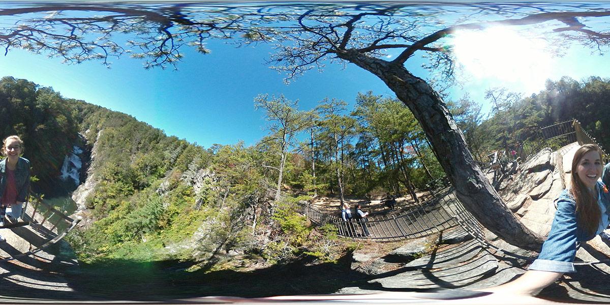 360 shot Tallulah Gorge State Park, Georgia