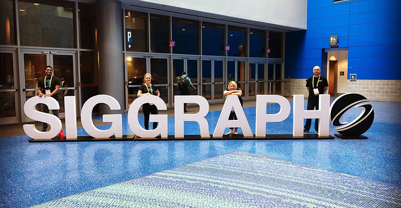 SIGGRAPH 2018, Vancouver; our team is growing!