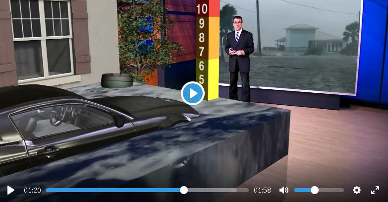 WTVD Uses AR to Drive Home the Dangers of Severe Weather | PILOT