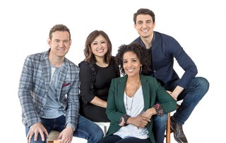 "The hosts of KING Seattle's ""Take 5"""