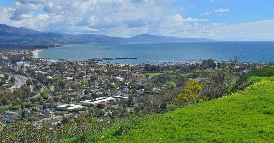 View from KEY-TV, Santa Barbara, CA