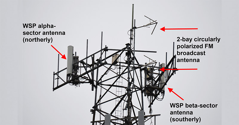Maxson paper antenna photo