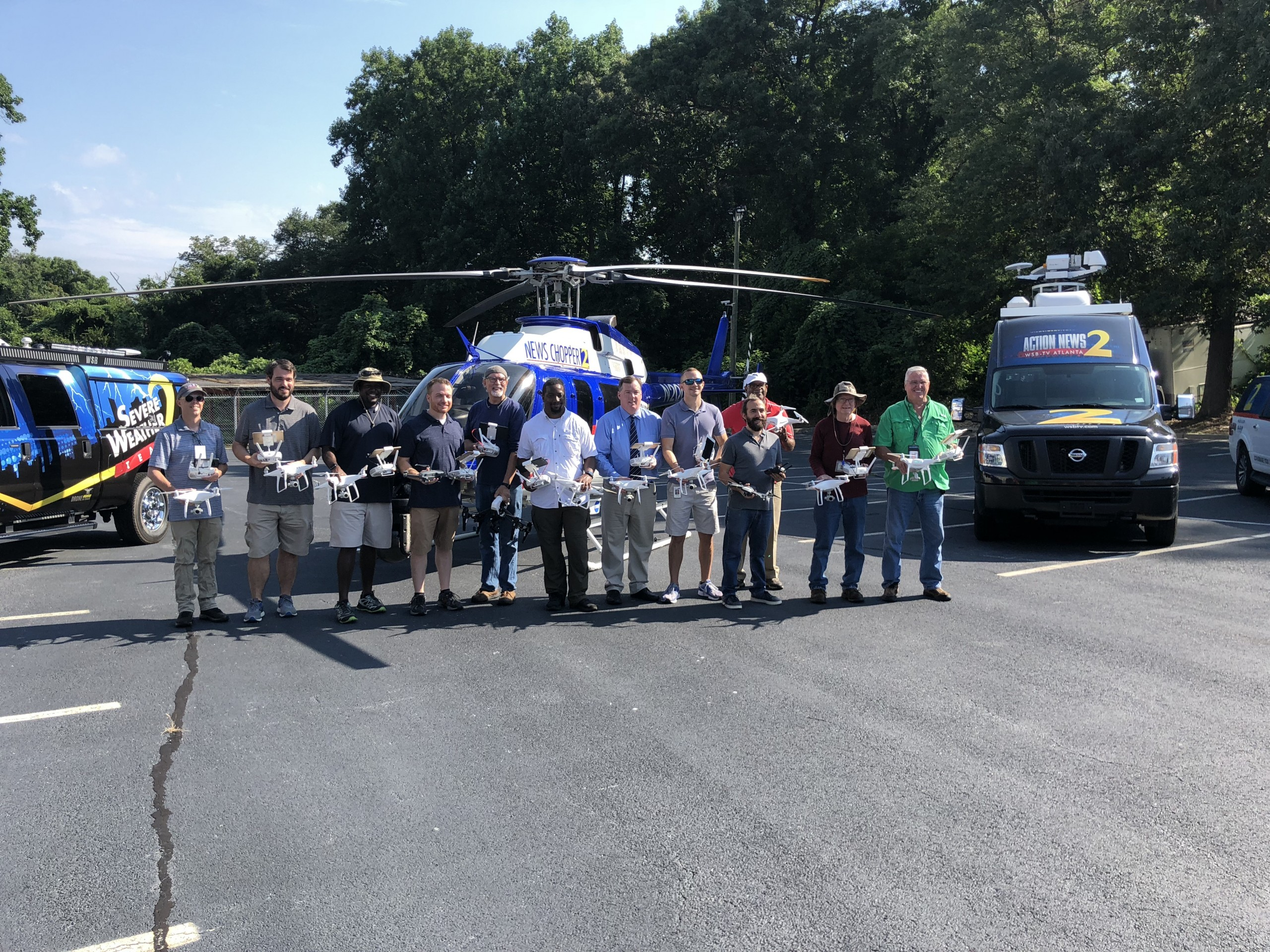 WSB-TV in Atlanta drones