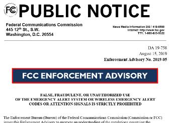 fcc public notice